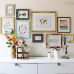 How to Hang a Perfect Gallery Wall… Without Nails!