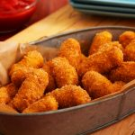 Crispy Cauliflower Nuggets with Marinara