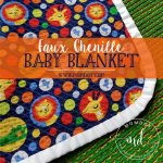 Sew a Faux Chenille Baby Blanket
