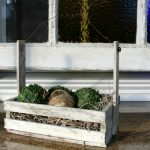 DIY Rustic Basket from a Crate