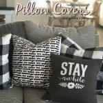 How to Make 10-Minute Pillow Covers for Spring