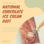 Go Choco Loco on National Chocolate Ice Cream Day