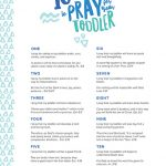 10 Ways to Pray for Your Toddler