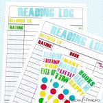 Free Kids Summer Reading Log Printables