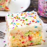 Funfetti Sheet Cake Recipe
