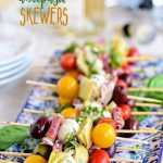 Antipasto Skewers – Easy Party Appetizer
