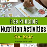 Free Printable Nutrition Activities for Kids