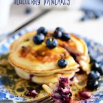 The Best Homemade Blueberry Pancakes