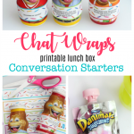 Printable Lunch Box Conversation Starters: Chat Wraps!