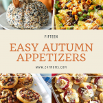 15 Easy Autumn Appetizers