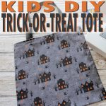 Trick-Or-Treat Tote: A 20-Minute Kids' Craft