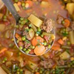 Smoky Vegetable Beef Soup