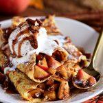 Apple Pie Dessert Crepes Recipe