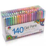 MOM DEAL: Smart Color Art 140 Colors Gel Pens Set $16.99