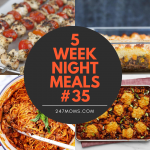 5 Easy Weeknight Meals #35