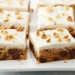 Maple-Nut-Chocolate Chip Cookie Bars