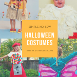 Simple No-Sew Halloween Costumes