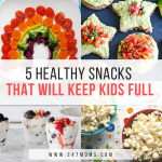 5 Healthy Snacks That Will Keep Kids Full