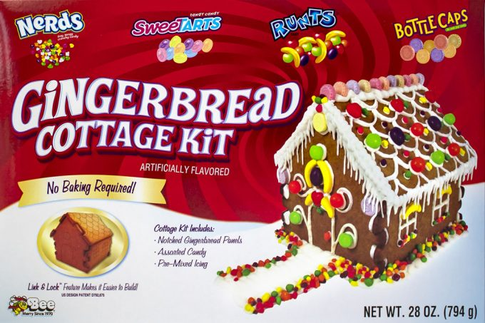 Christmas Gingerbread House Kit.Win Link Lock Design For Gingerbread House Kit 25 Days