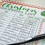FREE Christmas Shopping List Printable