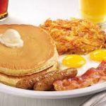 Free Denny's Grand Slam for Veterans 11.12.18 from 5 am – Noon