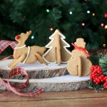Adorable 3D Gingerbread Christmas Cookies