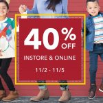 MOM Deal: 40% off Entire Stock at Payless