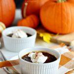 Pumpkin Crème Brûlée with Molasses
