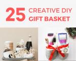 25 Creative DIY Gift Basket Ideas for Christmas