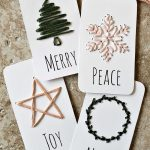 Simple Hand Embroidered Gift Tags