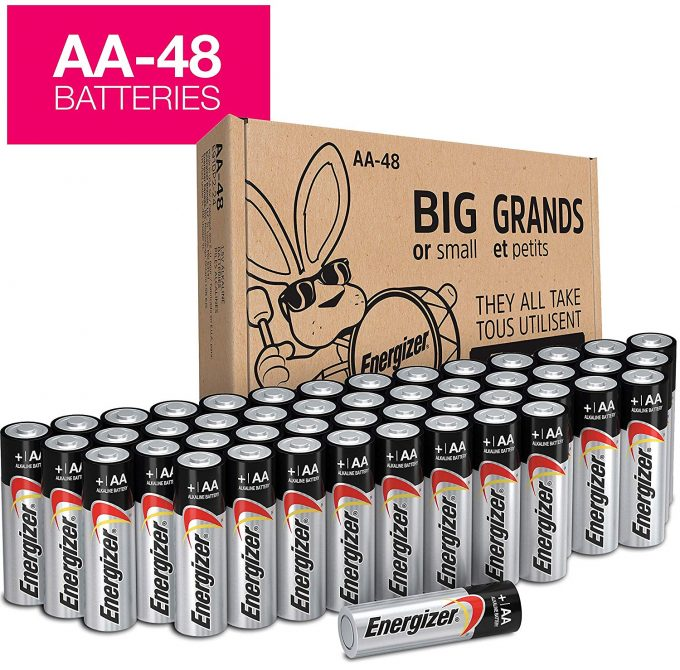 Mom Deal Energizer Aa Batteries 48 Count 13 99 24 7 Moms
