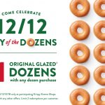 MOM Deal: 12/12 $1 Day of the Dozens at Krispy Kreme