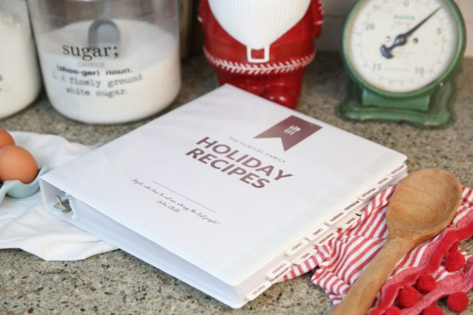 photo about Free Printable Recipe Binder Kit referred to as How in direction of Develop Your Private Recipe Binder - 24/7 Mothers
