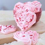 Valentine Meringue Cookies