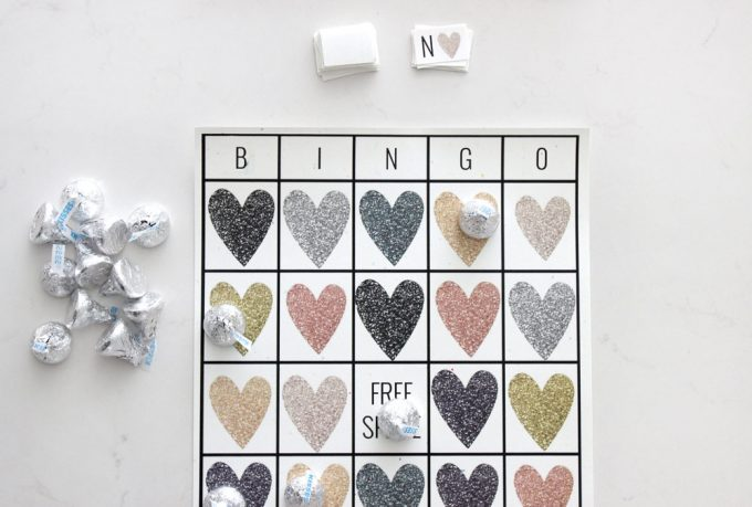 photo about Valentine Bingo Free Printable known as Cost-free Printable Valentines Working day Bingo - 24/7 Mothers