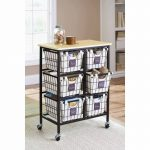 MOM Deal: Better Homes and Gardens 6 Drawer Wire Rolling Cart $60.56