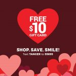 FREE $10 Gift Card for Tanger Outlet