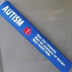 MOM Deal: Autism Medical Alert Safety Seatbelt Cover $19.99