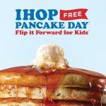 FREE Pancake Day at IHOP
