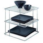 MOM Deal: Chrome Kitchen Corner Shelf Organizer $12.42