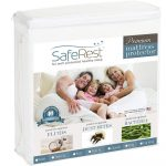 MOM Deal: SafeRest Queen Size Premium Hypoallergenic Waterproof Mattress Protector $26.95