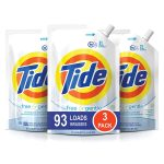 MOM Deal: Tide Free and Gentle HE Laundry Detergent, 3 Pack of 48 oz. Pouches