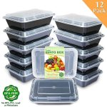 MOM Deal: Enther Meal Prep Containers (12 pack) $11.89