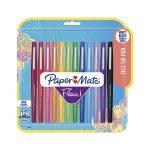 Paper Mate Flair Felt Tip Pens, Assorted Colors, 12 Count $6.92