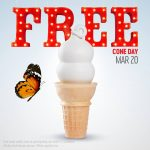 Free Cone Dayat Dairy Queen ~ March 20th