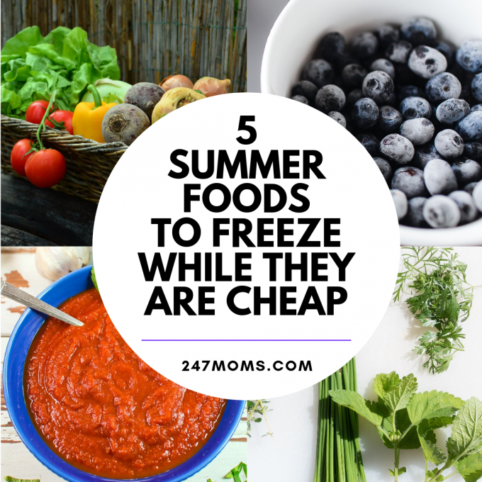 5 Summer Foods To Freeze While They8217re Cheap