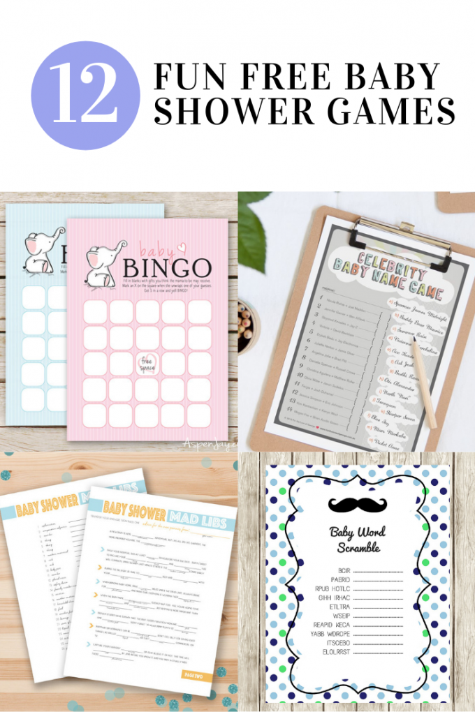 picture relating to Baby Shower Mad Libs Printable Free referred to as 12 Free of charge Enjoyable Boy or girl Shower Online games - 24/7 Mothers