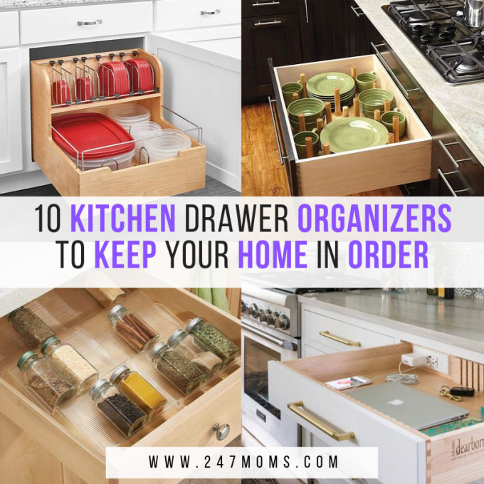 10 Kitchen Drawer Organizers to Keep Your Home in Order - 24 ...