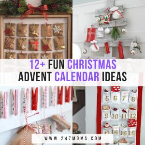 fun Christmas advent calendars