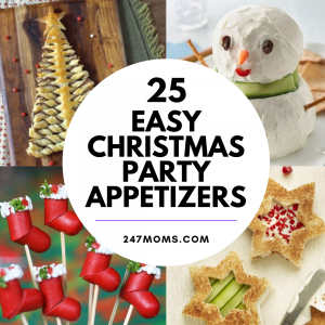 25 Easy Christmas Party Appetizers